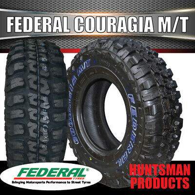 AU225 • Buy 4WD MUD TYRE 265/75R16 L/T Couragia M/T FEDERAL T 4X4 OFF ROAD 265 75 16 MUD