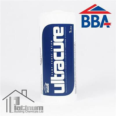 £21 • Buy ULTRACURE DPC Injection Cream 1 X 1L | Damp Proof Course Rising Damp Treatment