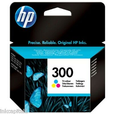 $40.45 • Buy HP No 300 Colour Original OEM Inkjet Cartridge CC643EE Deskjet Printer