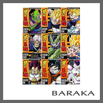 AU339.95 • Buy Dragonball Z Complete Season 1 2 3 4 5 6 7 8 9 Dvd Box Set Dragon Ball R4 1 - 9