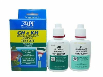 Api Gh & Kh Water Test Kit Fish Tank Tropical Pond General Carbonate Hardness • 10.99£