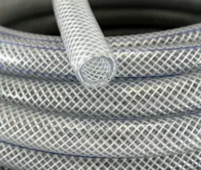 £33.95 • Buy Clear Braided PVC Hose Pipe Tube Reinforced - Food Safe Grade - Water Liquid Oil