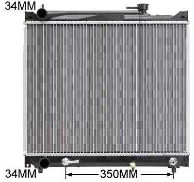 AU139.95 • Buy Radiator For Suzuki Grand Vitara SQ 98-05 2L Petrol V6 Vitara 91-99 4Door Wagon