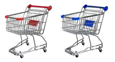 £14.90 • Buy Mini Shopping Trolley Cart With Seat & Rolling Wheels For Office, Kitchen Etc