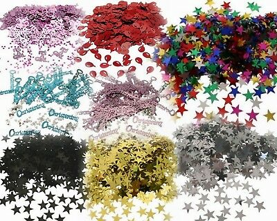 14g Heart, Bell, Love, Foil Wedding Confetti Table Scatter Holographic Butterfly • 1.50£