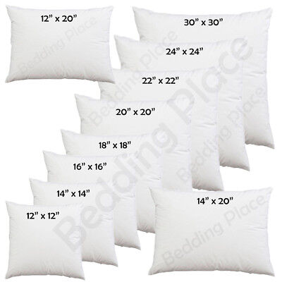 £2.10 • Buy Cushion Inner Pads Inserts Deep Filled 30, 35, 40, 45, 50, 60, 65, 70cm Scatter