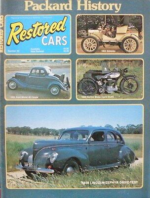 AU7.50 • Buy Restored Cars Magazine No 43 Packard History 1933 Ford Model 40 Coupe