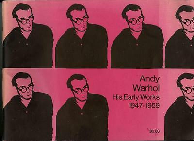 $250 • Buy 1971 ANDY WARHOL His Early Works 1947-1959 Gotham BookMart Gallery Catalogue $$