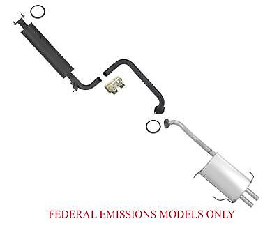 $190.89 • Buy Resonator Pipe And Muffler For Nissan Maxima 04/99 To 00 With Federal Emissions