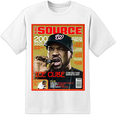 Ice Cube Magazine Cover - Huge T Shirt Print (s - 3xl) Hip Hop Trill  • 15.99£