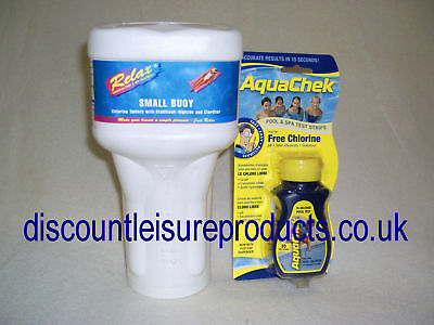 Swimming Pool Chemical Starter Kit A 8ft & 10ft Pools • 39.99£
