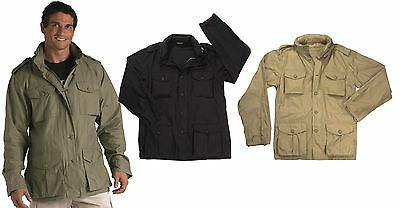 $79.99 • Buy Mens Lightweight Vintage Field Jacket Rothco Tactical M-65 Cotton Coat XS-2XL