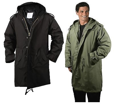 $94.99 • Buy Black/OD M-51 Fishtail Parkas - Military Jacket Winter Coat 1951 Army Type Issue