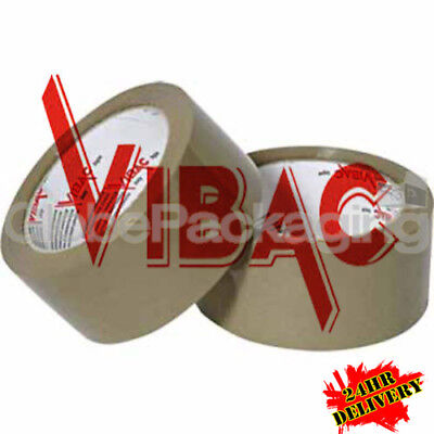 £78 • Buy 72 Rolls Of VIBAC X-Strong Brown Packing Packaging Tape