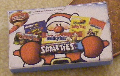 1:12 Scale Empty Smarties Selection Packet Tumdee Dolls House Sweets Accessory • 1.50£