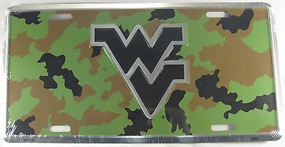 $ CDN10.27 • Buy West Virginia License Plate Truck Car Camo Camouflage Wvu Mountaineers New L910