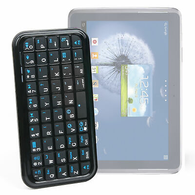 Wireless Streamline Samsung Galaxy Note 10.1 Tablet Bluetooth Keyboard In Black • 14.99£