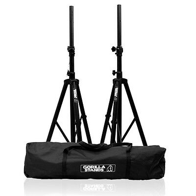 £89.95 • Buy Gorilla Stands High Quality PA Speaker Tripod Stands Kit With Bag Stand DJ Disco