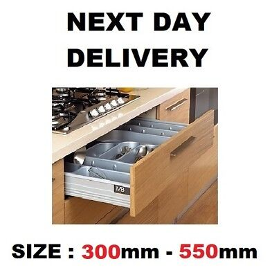 Soft Close Drawer Box Like Blum  - Low - All Sizes 300-550 Mm • 24.99£