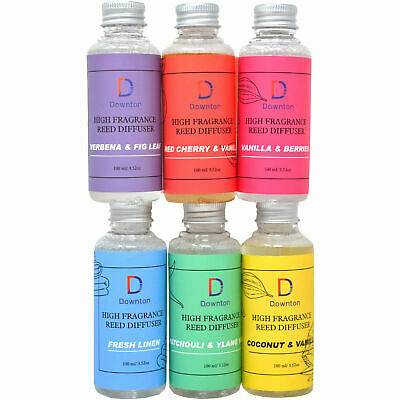 £4.90 • Buy Reed Diffuser Oil Refill Bottle 100ml Aromatic Fragrance Scent Oils New Home