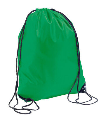 $4.60 • Buy KELLY IRISH GREEN Draw String Gym Sack PE Shoe Dance Rucksack Swim Bag