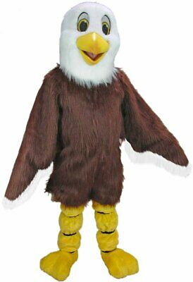 £793.84 • Buy Baldy The Eagle Professional Quality Mascot Costume Adult Size