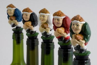 £8.49 • Buy Rugby Player Scrum, Red/blue/ Novelty Wine Bottle Stopper,gift Boxed Cake Topper