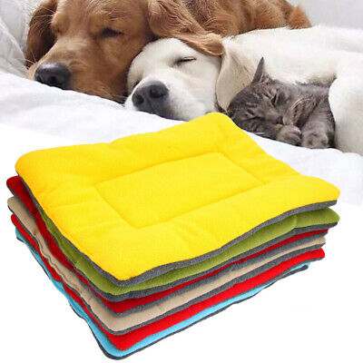 $11.89 • Buy New Small Medium Extra Large Dog Pet Crate Kennel Warm Bed Mat Padding House