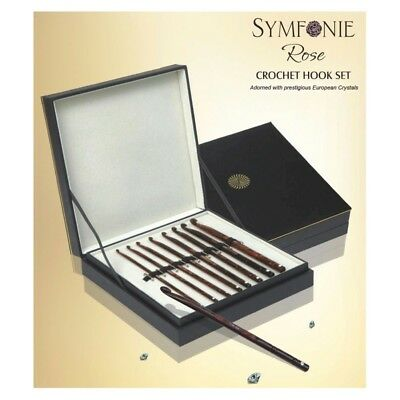 KnitPro Symfonie Rose Crochet Hook Deluxe Set • 77.45£