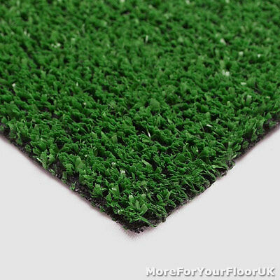 £89.80 • Buy Cheap 6mm Budget Artificial Grass Astro Turf Green Fake Lawn Patio 2m 4m Wide