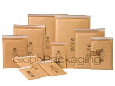 £8.80 • Buy Genuine Jiffy Airkaft Gold Padded Bubble Envelopes Bags *all Sizes/qty's*