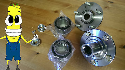 $78.95 • Buy Front Wheel Hub And Bearing Kit Assembly For Acura TSX 2004-2008 PAIR TWO