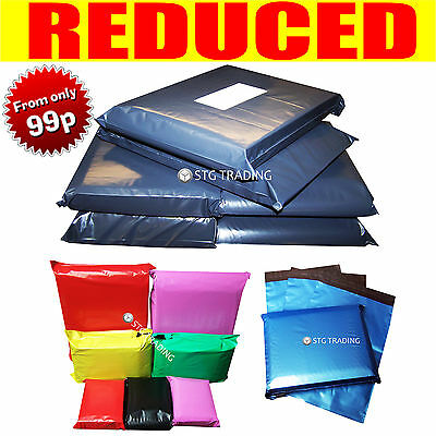 Strong Grey Coloured Plastic Mailing Post Poly Postage Bags Self Seal PROMAX • 6.89£