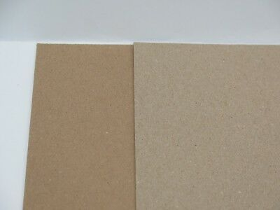 £3.75 • Buy Kraft 100% Brown Recycled Card A4 Or A5 280gsm For Cardmaking Wedding Crafts
