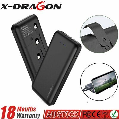 AU31.99 • Buy 500000mAh LCD Portable External Battery Charger USB Power Bank Backup For Phone