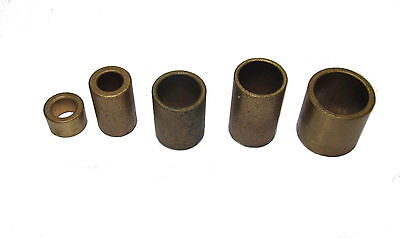 £6.95 • Buy New Oilite Bushes Metric & Imperial Sizes Engineering Tools - Direct From Myford