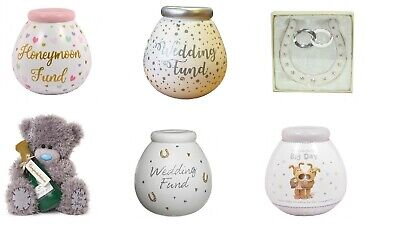 Wedding Gifts - Pot Of Dreams - Boofle - Me To You - Bears - Money Pots • 8£