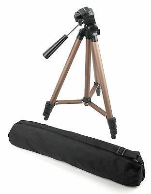Durable Tripod With Nylon Carry Case For Nikon Coolpix P300 P900 S9100 S3100 L23 • 21.99£