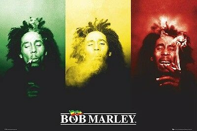 "Bob Marley /""Don/'t Worry About A Thing/"" Quote Poster Print 7/""x21/"" On Matte Canvas"