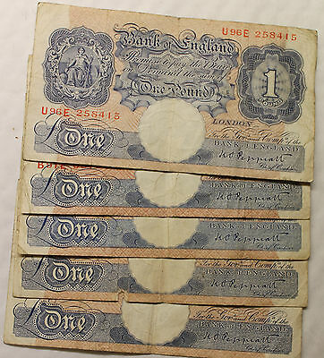 £2.79 • Buy English One Pound Bank Notes Select Your Note And Cashier