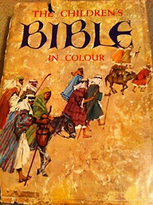 The Children's Bible In Colour Hardback Book The Cheap Fast Free Post • 8.12£