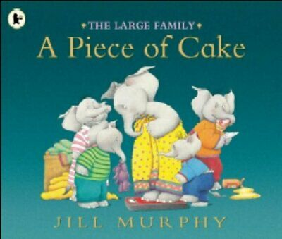 £3.59 • Buy The Large Family: A Piece Of Cake By Murphy, Jill Paperback Book
