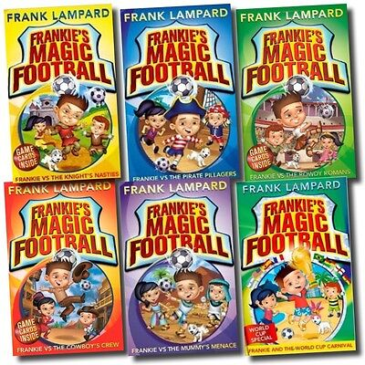£14.99 • Buy Frankie's Magic Football Frank Lampard 6 Books Collection Pack Set Children Read
