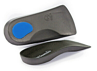 £4.49 • Buy FootSoothers™ 3/4 Orthotic Insoles Arch Support Pronation Fallen Arches FlatFeet