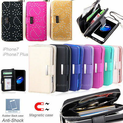 AU14.99 • Buy All In One Zip Purse Wallet Leather Case Cover For Apple IPhone 11 Pro Max Fast