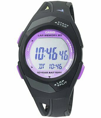 $ CDN28.86 • Buy Casio Women's Runner Eco Friendly Digital Resin Strap Watch STR300