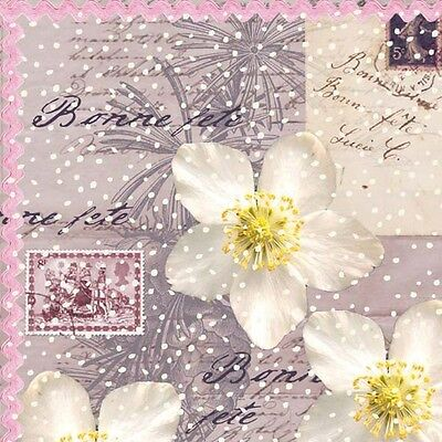 £7.22 • Buy Napkin/Luncheon -  Bonne Fete  - French-themed Party, Paper Napkin (Good Party)