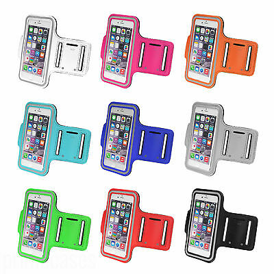 Sports Running Jogging Gym Armband Case Cover Holder For IPhone 5/5S/SE/6/6 Plus • 4.49£