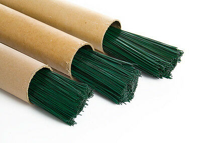 £3.55 • Buy Green Florist Stub Wire Choice Of Gauge & Length Floristry Wires & Qty