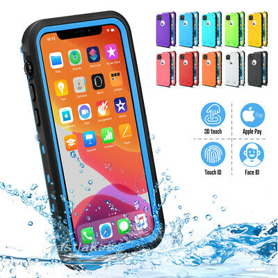 AU12.99 • Buy Waterproof Tough Shockproof Case Cover For Apple IPhone 12 11 Pro Max XS XR Mini